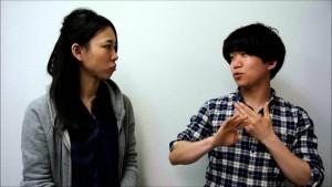 手話ムービー:トーク編 「聞こえなくて困った経験」